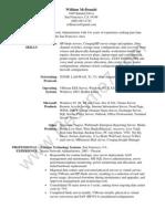 Senior Network Administrator Resume Sample