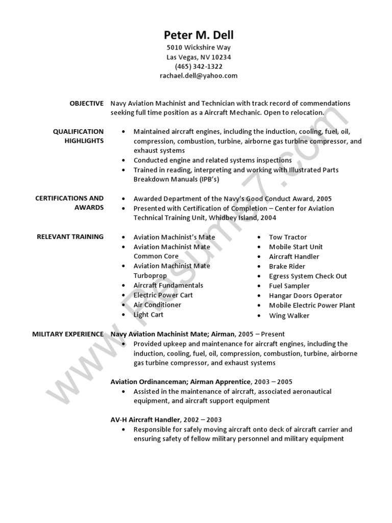 Machinist Mate Resume Machinist Resume Example Awesome Machinist