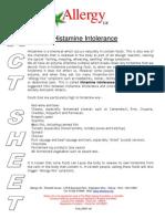 Histamine Intolerance[1]