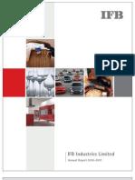 IFB Industries Annual Report 10-11