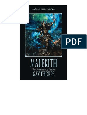 Warhammer - Time of Legends - [Sundering 01] - Malekith - Gav Thorpe