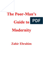 The Poor Mans Guide to Modernity Ze eBook Print