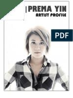 Prema Yin Profile August 2011