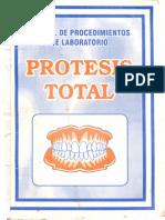 Manual De Procedimiento De Laboratorio De Prótesis Total