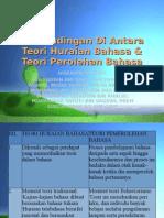 BandingBeza Teori Huraian Bahasa Dgn Teori Pemerolehan Bahasa