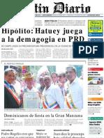 PrimeraPlana-Listin Diario-12deAgosto2002