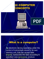 Basic Computer Concepts