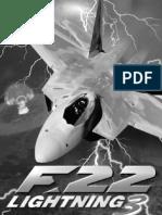 F-22 Lightning 3 - Manual