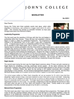 Newsletter 4 Trinity Term 2011