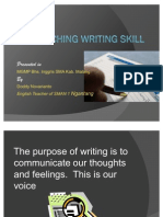 Teaching Writing Skill