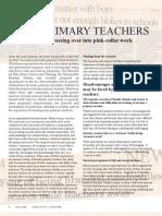 Ec0403 Male Primary Teachers