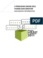 Peraturan Pemilu 2011