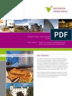 """Imagebroschüre Projekt """"Tourismusmarketing für die Großregion"""""""