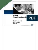 ABAP Troubleshooting