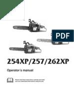 Husqvarna 254XP User Manual