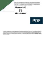 Manuale d'Uso NEXUS500 Pre EVO