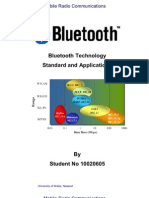 Bluetooth Technology, Standard and Applications. Assignment 2011 - 2 C15