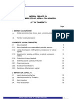 List of Content - Interim Asphalt