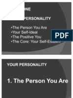 Part1.the Person You Are