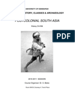 Post Colonial South Asia Handbook
