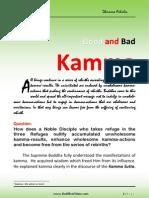 Good and Bad Kamma