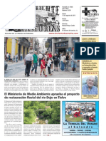 Portada El Oriente de Asturias (12/08/11)
