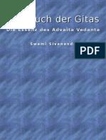 Swami Sivananda Das Buch Der Gitas Die Essenz Des Advaita Vedanta