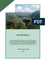 Plan Maestro de Turismo 2007 - 2011 - 2.0 Copia
