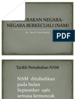 Pergerakan Negara-negara Berkecuali (Nam)