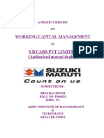 A Project Report on Working Capital Management (1)