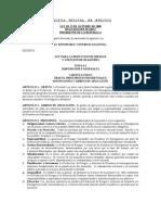 Ley N° 2140 para la Reducción de Riesgos y Atención de Desastres