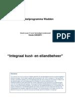 QS5 Integraal Kust en Eilandbeheer