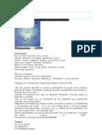 MALAMBO - Alambre Gonzalez - Discografia