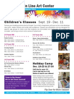 Fall Session Children's Flyer