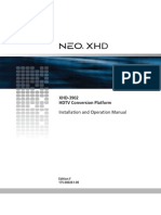 XHD 3902 EditionF Manual