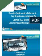 Presentacion Consulta Publica Justicia de Paz