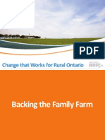 NDP-Change That Works For Rural Ontario