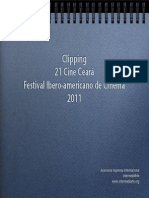 Clipping de Imprensa Internacional do 21 Cine Ceará- Festival Ibero-americano de Cinema 2011