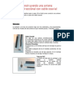 Construyendo Antena Omnidireccional Con Cable Coaxial