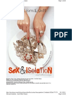 Sex & Isolation