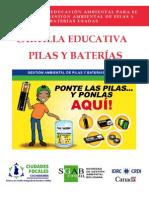 IDRC-EDUCACION. Cartilla pilas y baterías