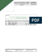 Procedimientos de Notificacion Registro, Investigacion y Divulgacion de Accidentes e Incidentes