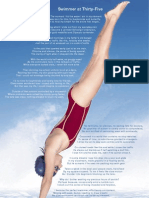 Swimmer at Thirty-Five by Dermot Bolger