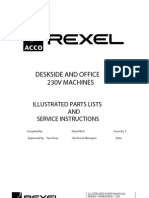 service and parts manual rexel shredder 415 425 432 autoplus belt rh scribd com rexel shredder service manual rexel 500x shredder service manual