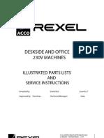 service and parts manual rexel shredder 415 425 432 autoplus belt rh scribd com rexel 500x shredder service manual Rexel Shredder Auto 500X