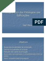Diagnostico Das Patologias Nas Edificacoes