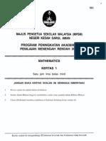 2011 PPMR Kedah Math12 w Ans