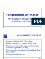 Fundamentals of Finance
