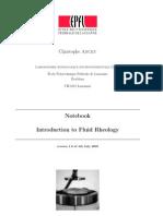 Introduction to Fluid Rheology