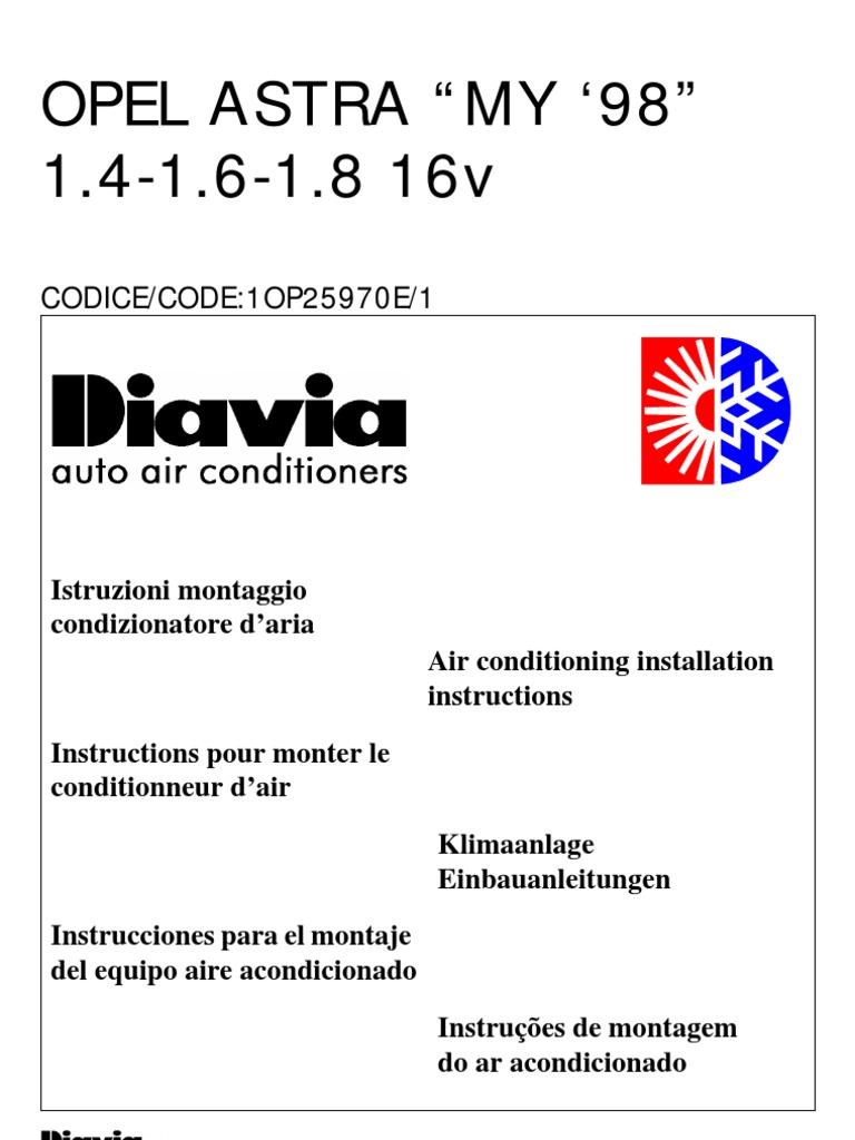 Schemi Elettrici Opel : Manuale 083 opel astra